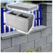 Betonové plotové tvárnice